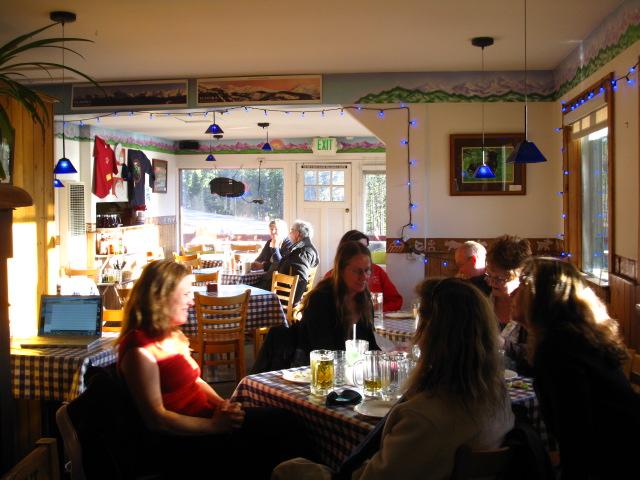 Sundance Cafe Inside