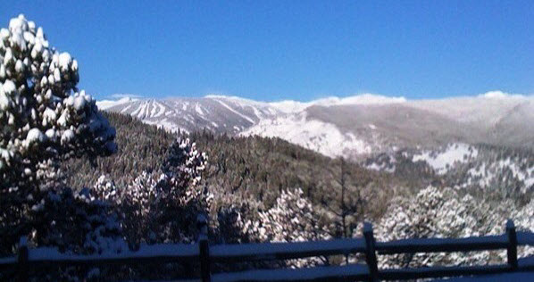 Eldora Ski Area from Sundance Lodge